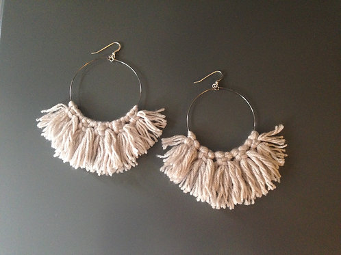 Knit Neck Earrings