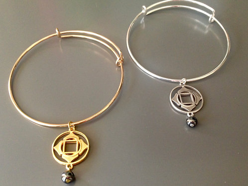 ROOT Chakra Bangle Bracelet