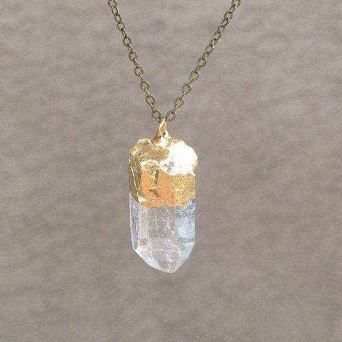 Clear Quartz Necklace - All Chakras