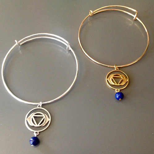 THIRD EYE Chakra Bangle Bracelet