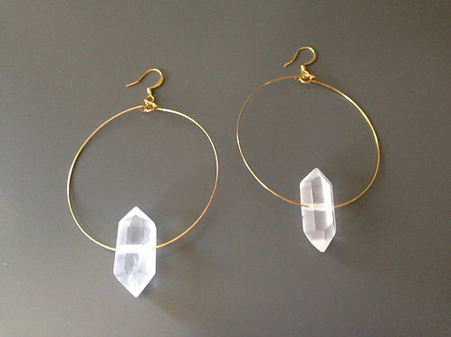 2thePoint Float Earrings