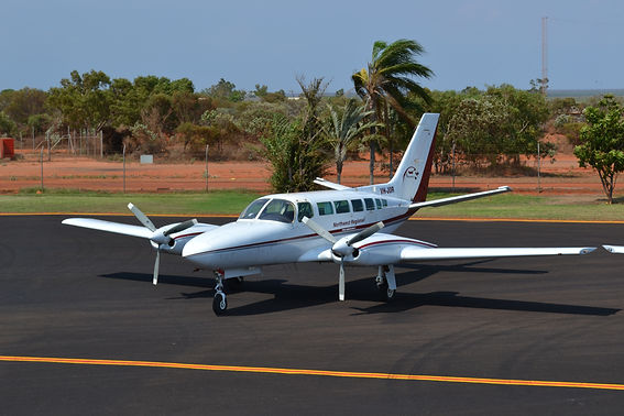 Twin engine Cessna 404