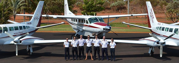 Broome aviation fleet photo