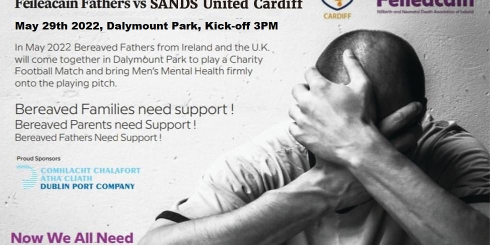 Féileacáin Fathers Vs SANDS United Cardiff