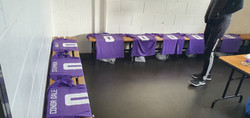 dressing room - jerseys