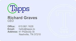 Traditional Business Card