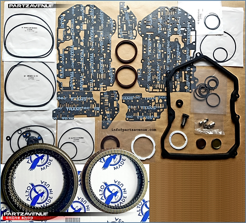 09K FRICTION AND OVERHAUL SEALS AND GASKET KIT