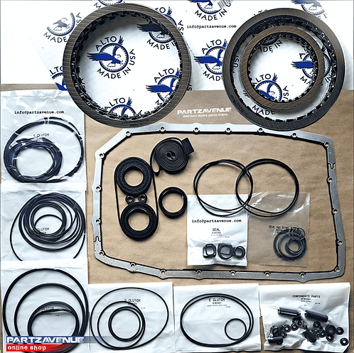 6HP26 | 6HP28 | FRICTION AND SEALS OVERHAUL BMW,JAGUAR,LAND ROVER