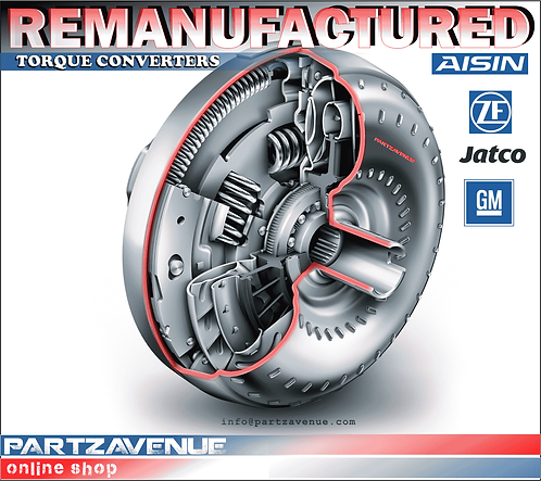 REMANUFACTURED TORQUE CONVERTER AUDI VW