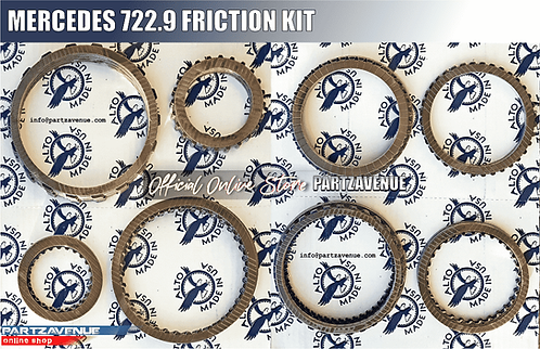 FRICTION KIT 722.9 MERCEDES Automatic gearbox