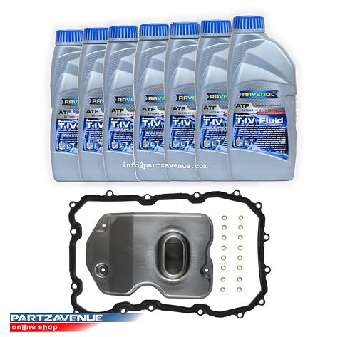 TR60SN 09D ATF OIL FILTER AND GASKET KIT ( 7 litre pack )