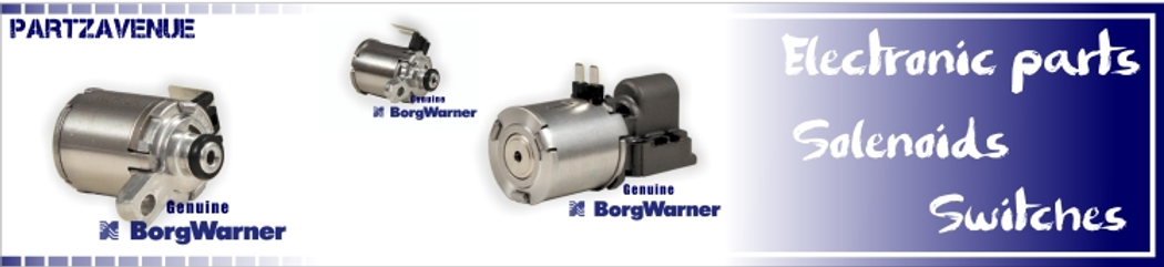 Gearbox solenoid DSG DCT Mechatronic and valvebody components