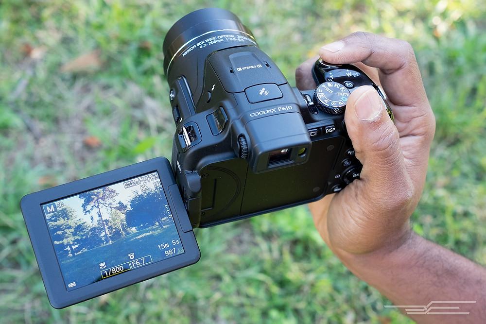 Coolpix Superzoom camera