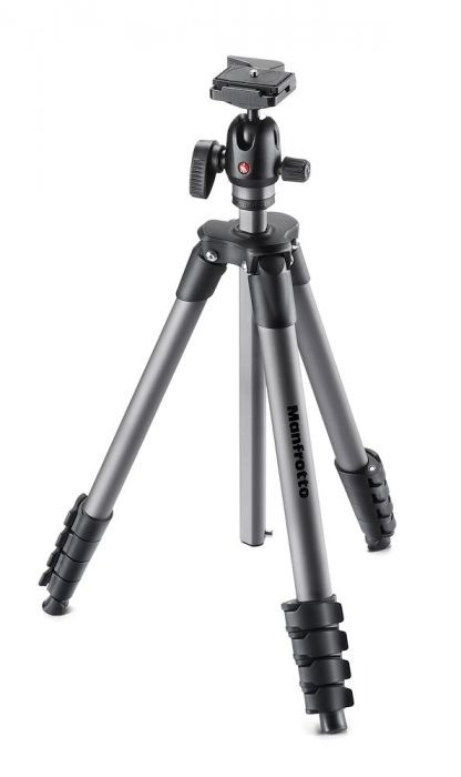 Tripod with central column