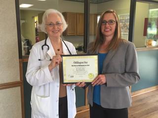 Congratulations Dr. Janice!