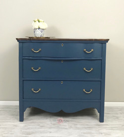 3 Drawers Antique Chest of Drawers