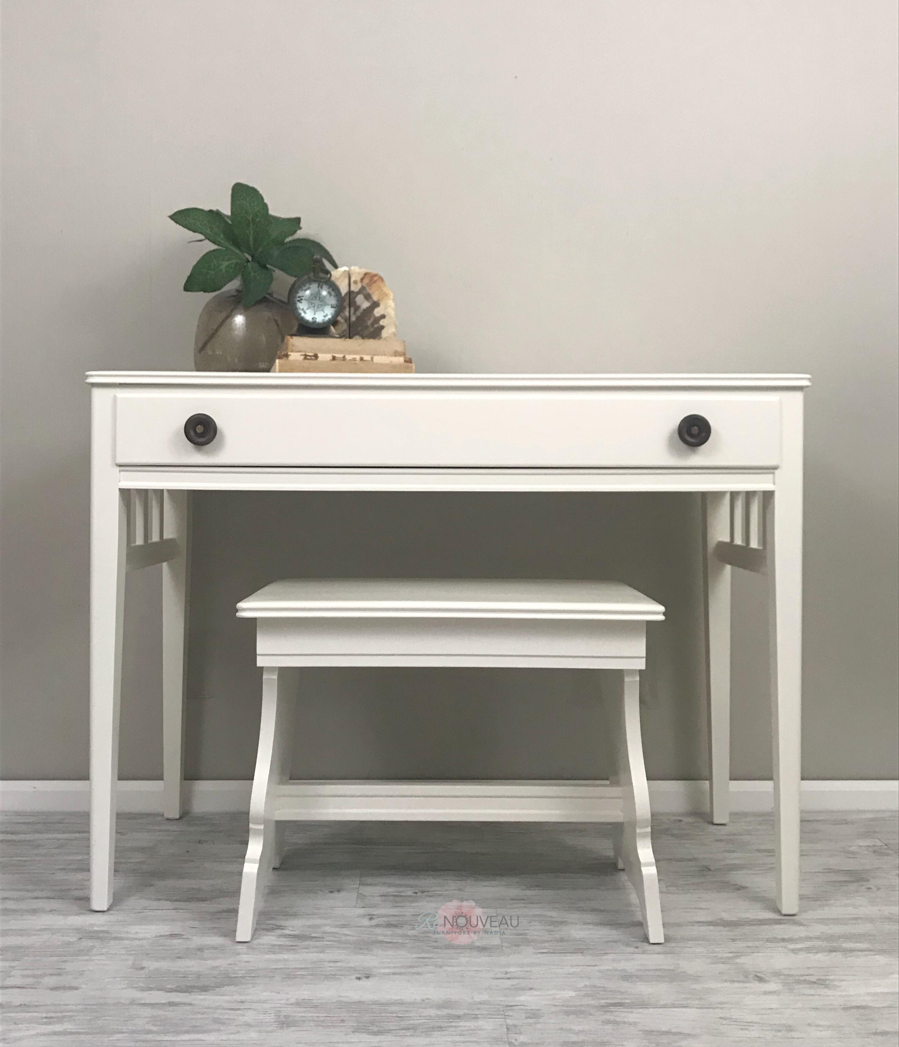 Vintage Desk/Vanity Set