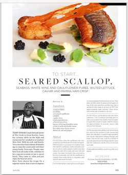 Our Essex life scallop recipe