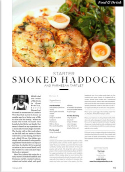 Our recipe in the Essex Life mag