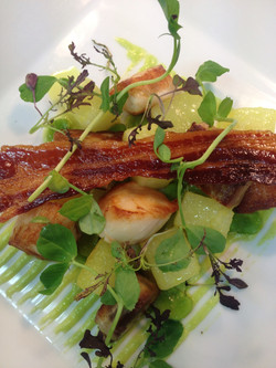 Scallops & Bacon