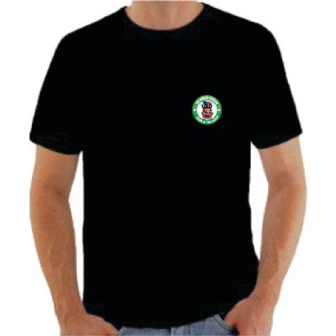 Camiseta masculina (preta)