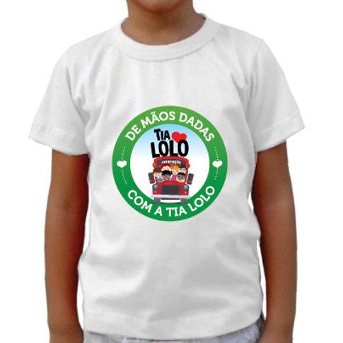 Camiseta infantil (branca)