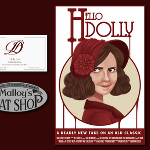 Hello Dolly Props