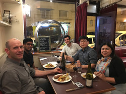 ERS 2018 dinner with Pollution lab