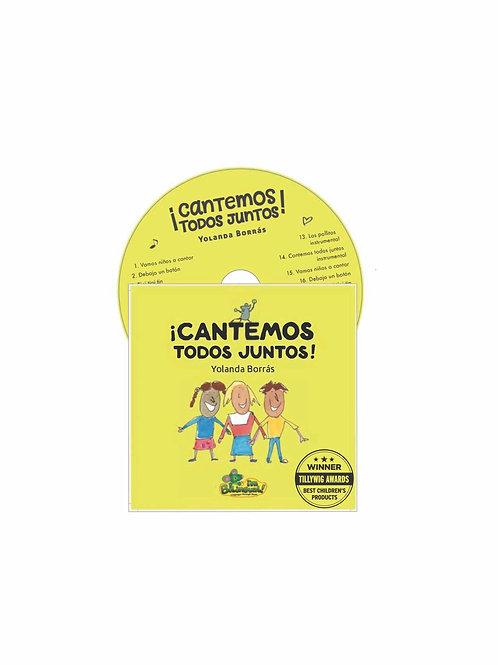 ¡Cantemos Todos Juntos! CD (Let's Sing Together)
