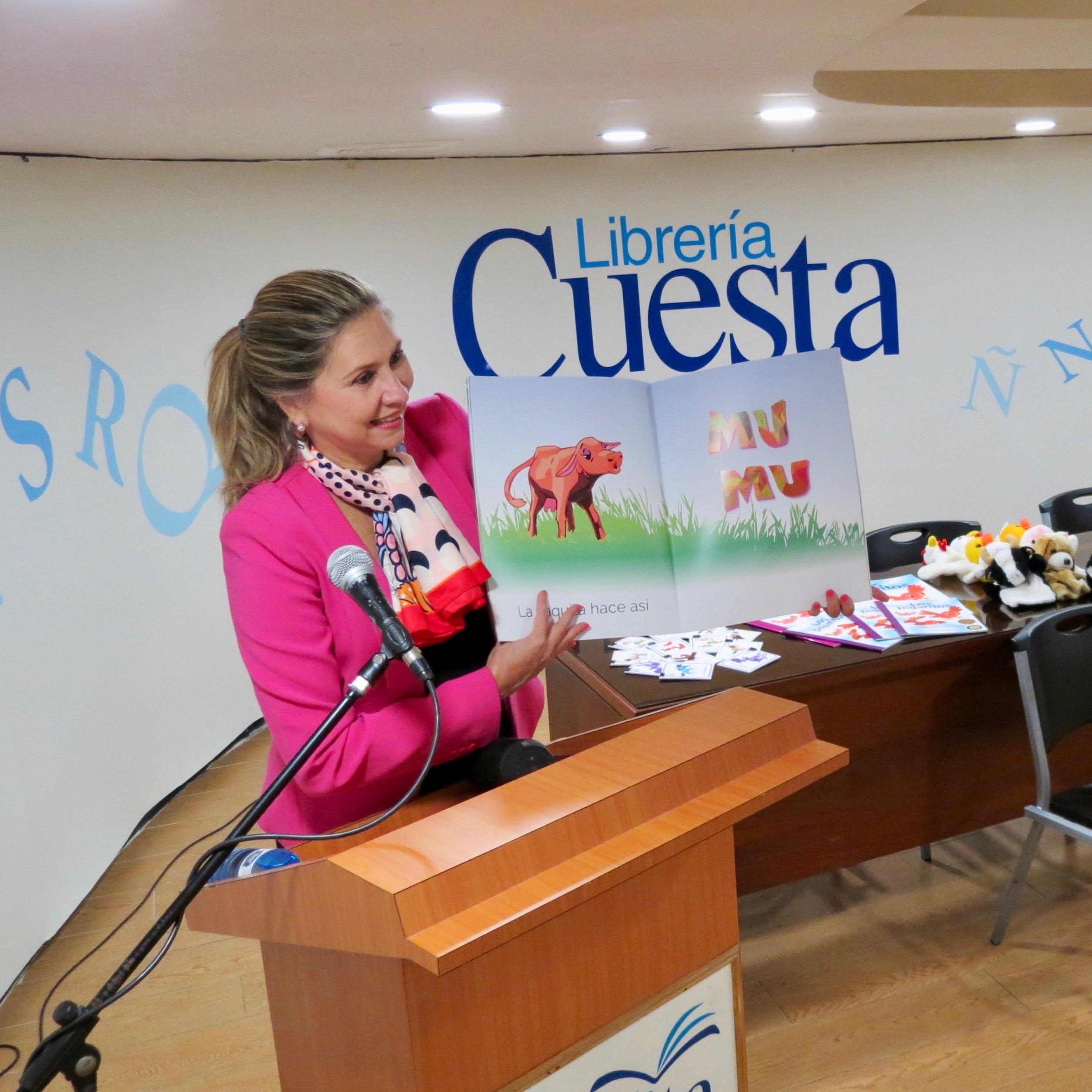 Yolanda Borrás lanzamiento La Finca