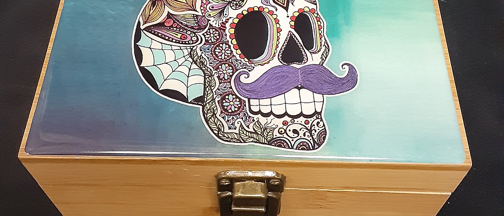 Skull Stash Box Combo