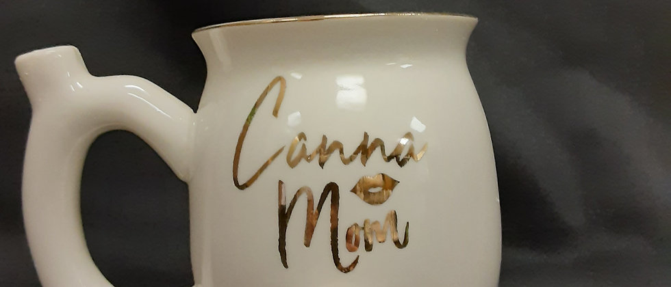 Canna Mom smoking mug