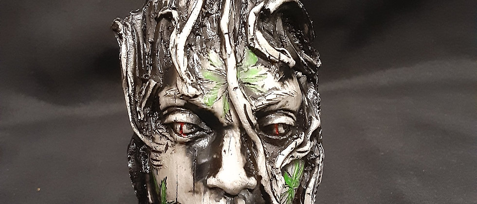 Peruvian Face Tree Pipe.