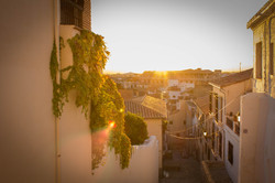 Sunset in Albaicín