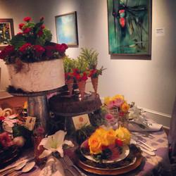 Art in Bloom Display