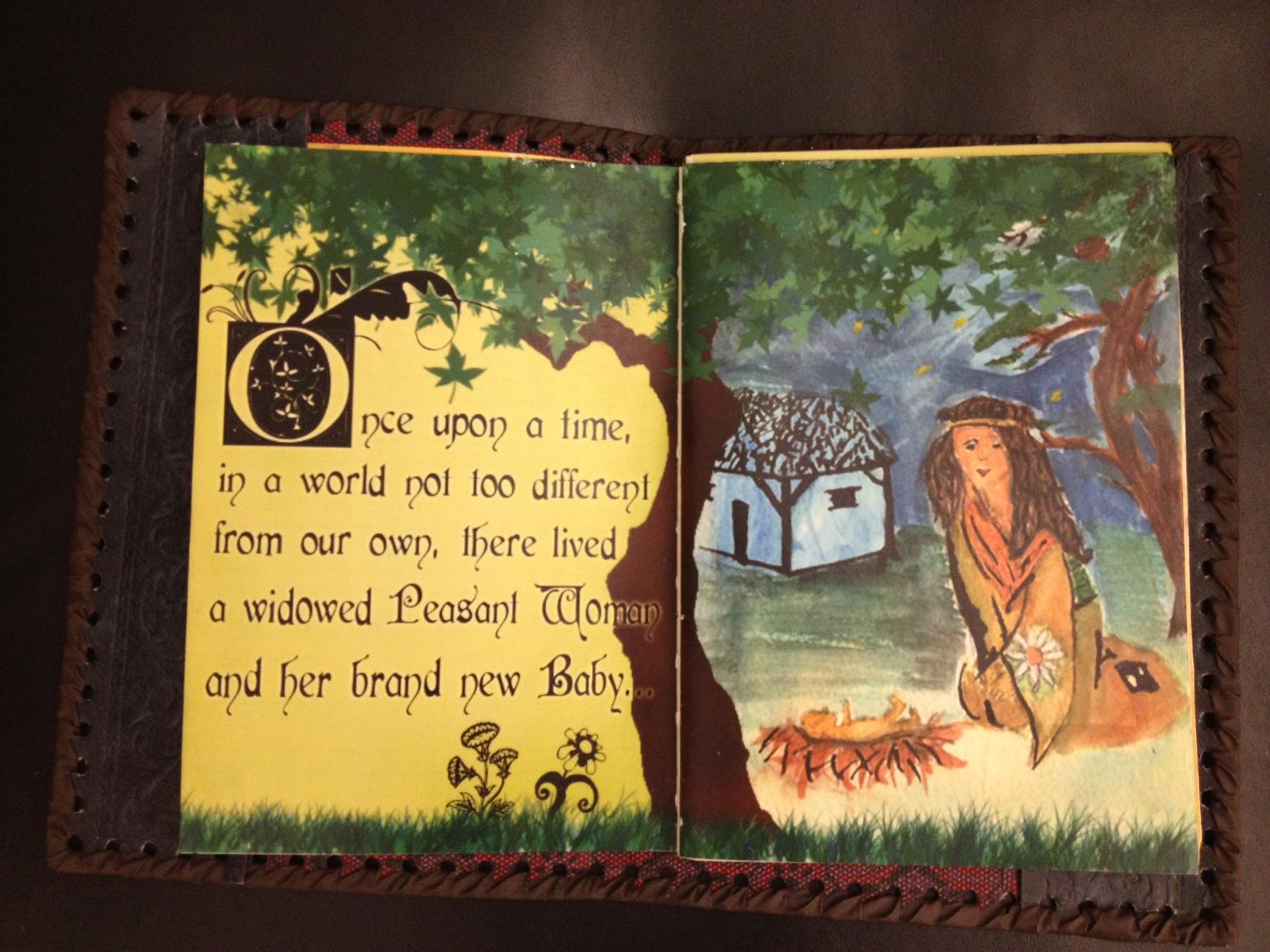 Story Book Prop