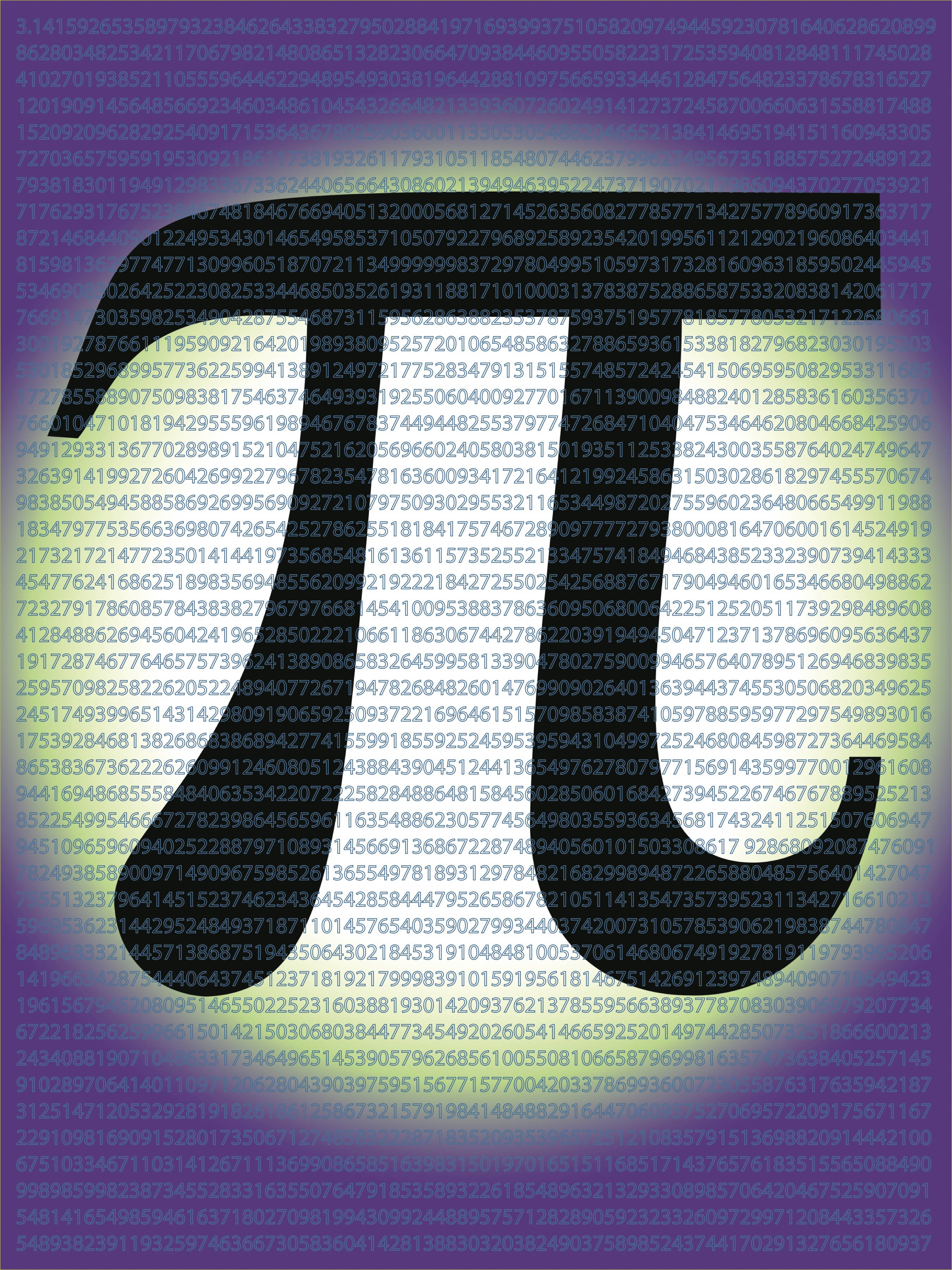 Middle School Math Poster- Pi