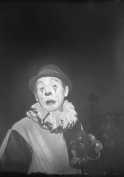 The clown at daybreak
