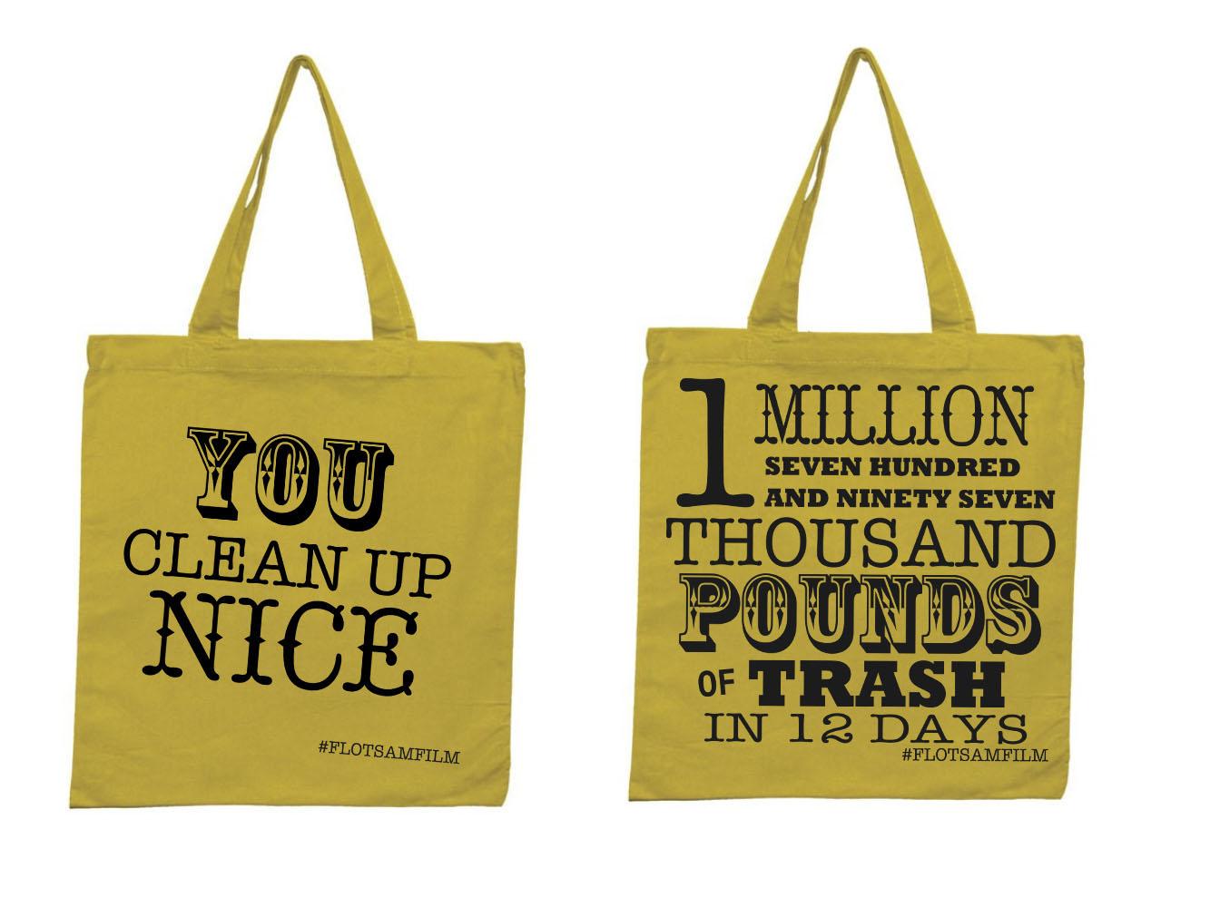 Flotsam Tote Bag Design