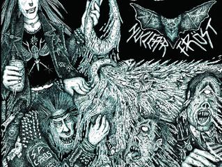HELVETIN VIEMÄRIT // NUCLEAR FROST - Split CD