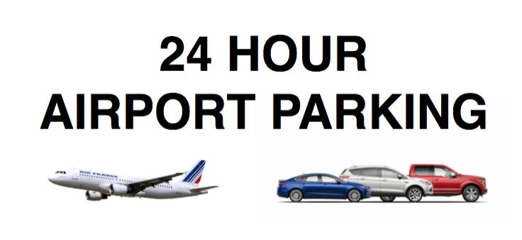 24 HR AIRPORT PARKING
