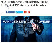 CMMC Find The Right MSP Partner