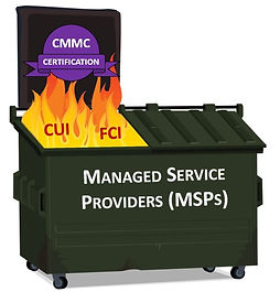 CMMC MSP Dumpster Fire.JPG