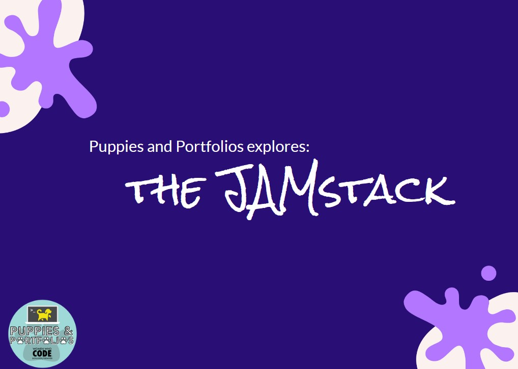 Exploring the JAMstack