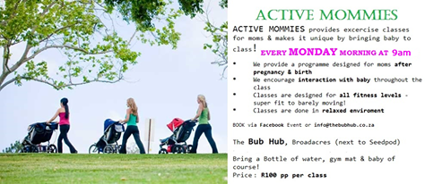 Get Fit and Active After Baby!