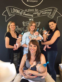 Our Awesome March Baby Massage Moms!