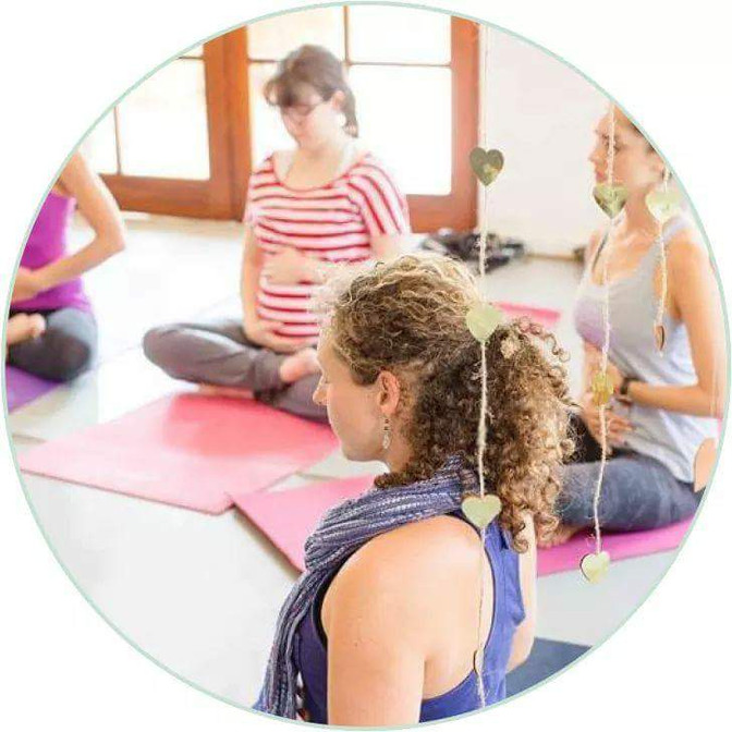 Need more Preggy energy? Join our Yogamama Yoga classes..