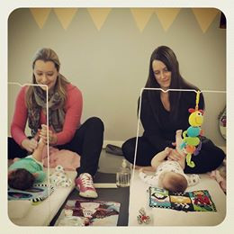 Our Baby Massage Course's start!