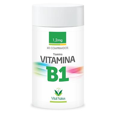 Vitamina B1 - 60 cápsulas - 1,2mg