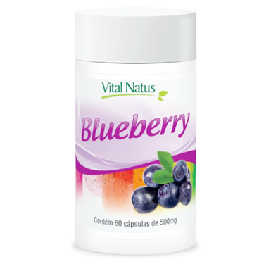 Blueberry - 60 cápsulas - 500mg